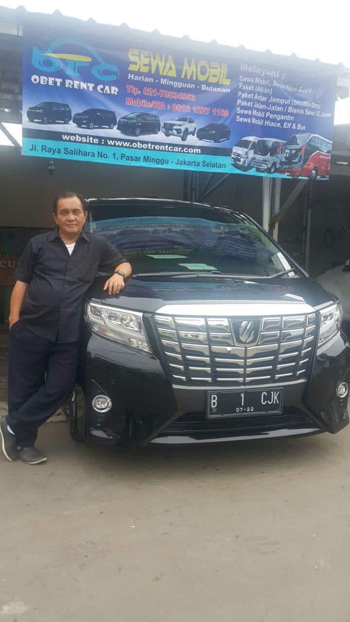 Sewa Alphard Jakarta Barat