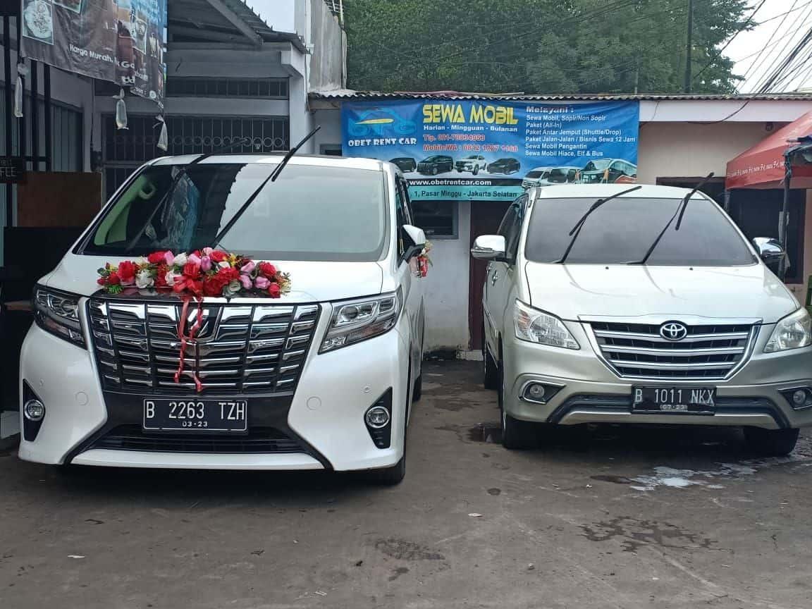 Rental Mobil Wedding di Bogor untuk Pengantin dan Pengantar.obetrentcar.com